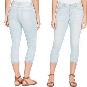 Bandolino lisbeth curvy capri jeans | skinny leg
